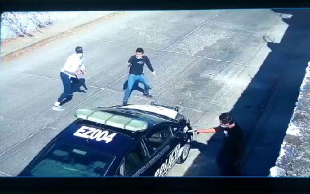 Acribillan a policía en Morelos