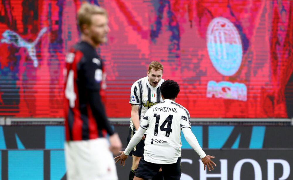 Weston McKennie Milan vs Juventus