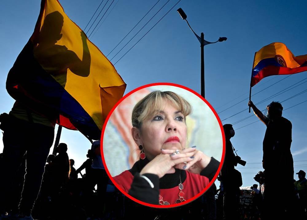 Jueza Nelly Villamizar - Protestas