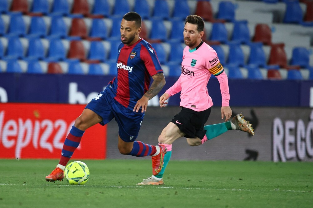 Barcelona - Levante AFP.