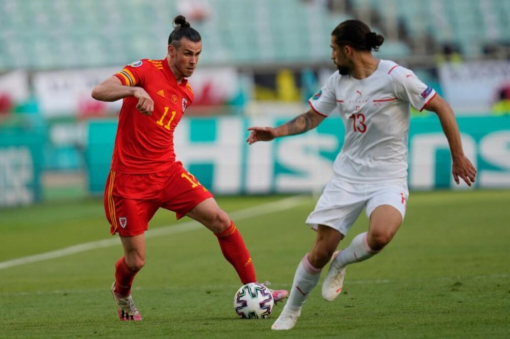 Gareth Bale Gales vs Suiza