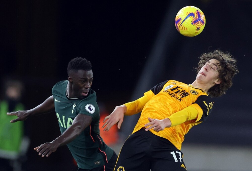 Davinson Sánchez, Tottenham vs Wolves