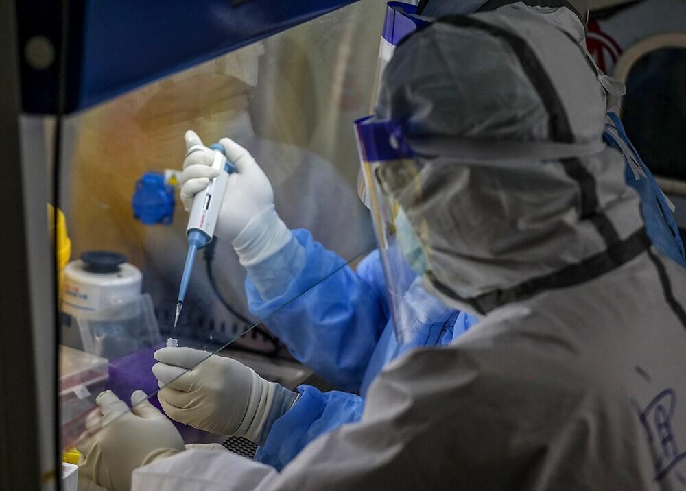 357817_Laboratorio de coronavirus / Foto: AFP