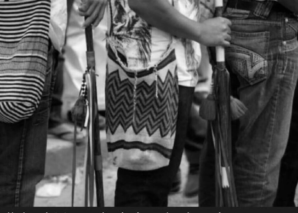 Indígenas // Foto referencia: Archivo El Espectador - Onic Referencia