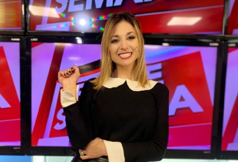 Noelia Novillo, presentadora - Foto tomada de Twitter noelianovillook.PNG