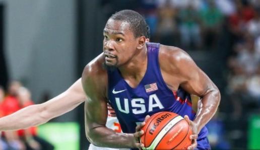 Kevin Durant ya fue campeón en Londres 2012 y Rio de Janeiro 2016.