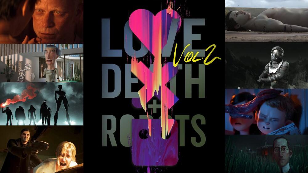 Love, Death & Robots, volumen dos, serie de Netflix.