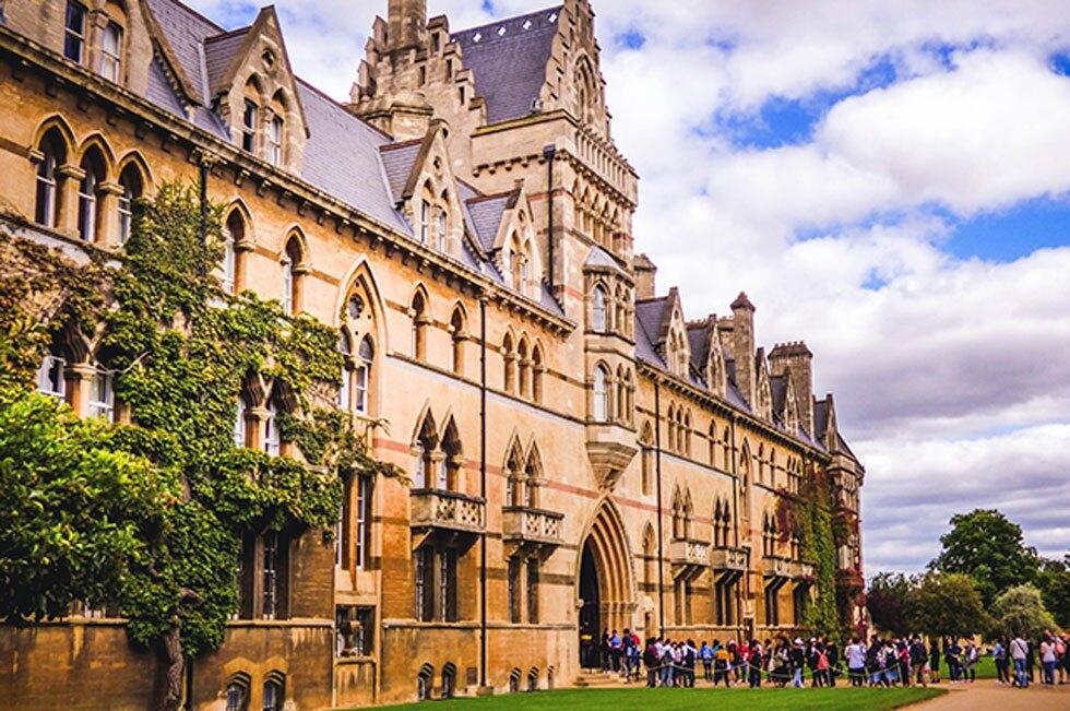 Universidad de Oxford en Inglaterra