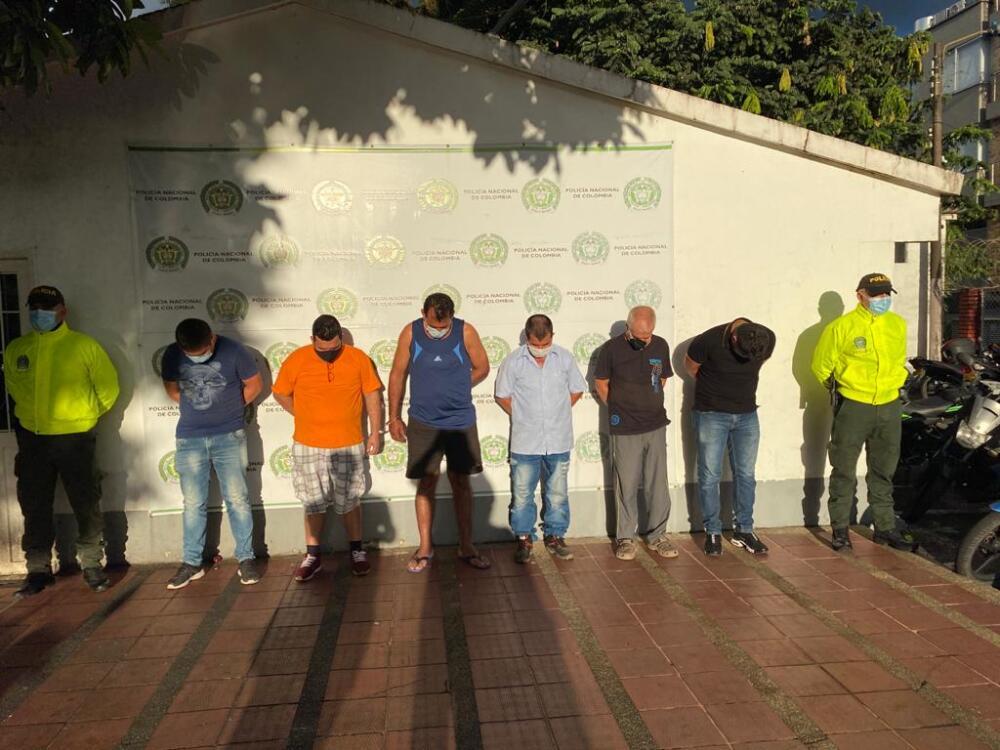 371042_Presuntos abusadores capturados en Villavicencio. Foto: Policía metropolitana de Villavicencio