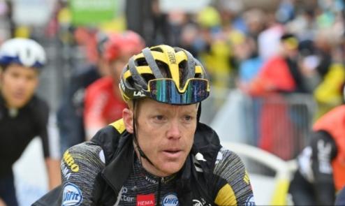 Steven Kruijswijk se retiró del Tour de Francia.