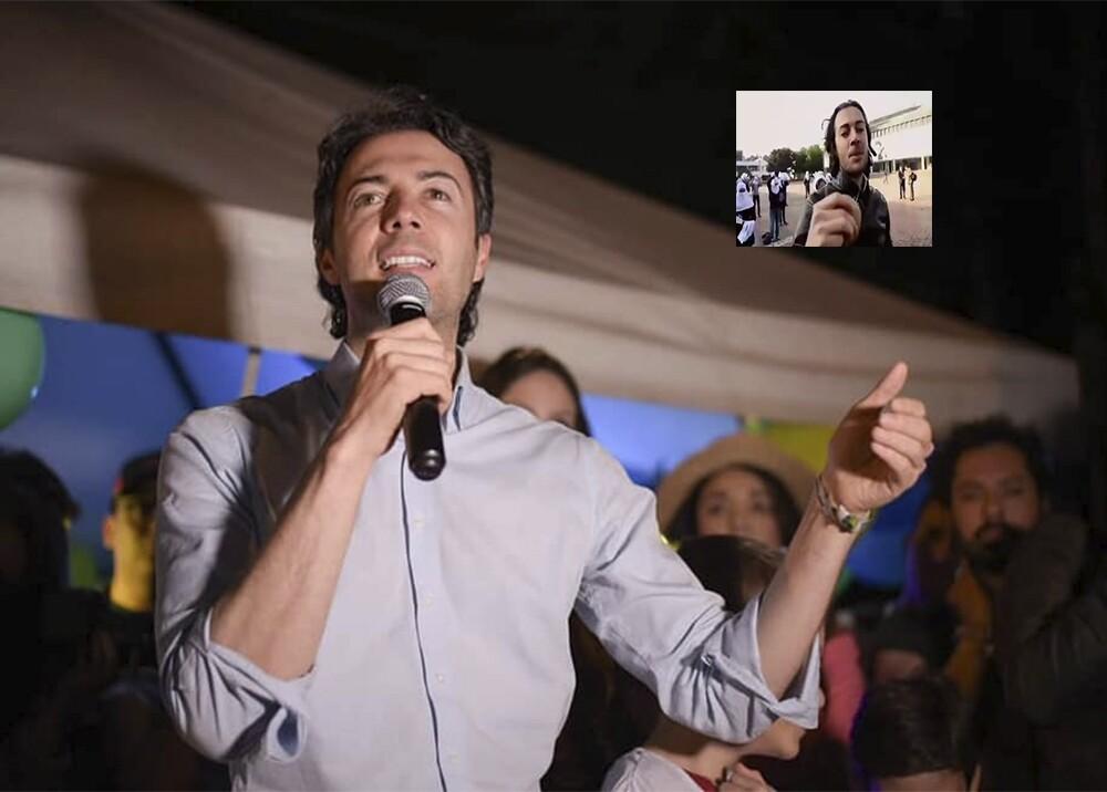 347175_BLU Radio. Circula falso video de Daniel Quintero / Foto: Daniel Quintero - captura de video