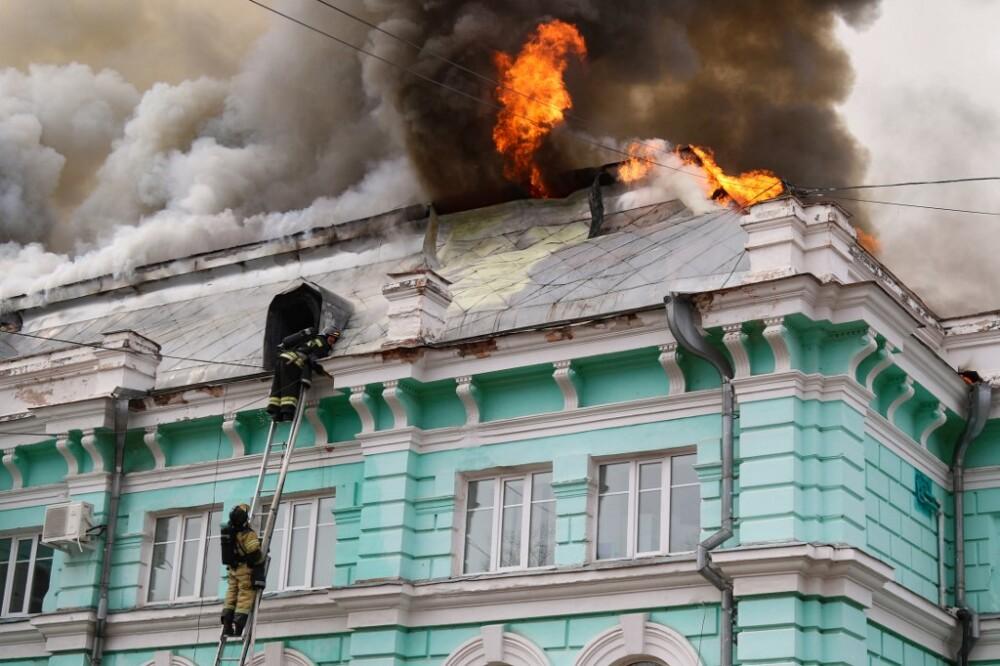 Operación a corazón abierto en medio de un incendio