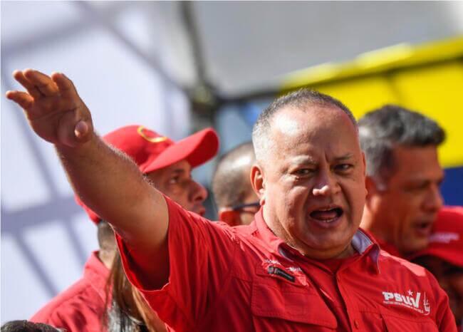 Diosdado Cabello. Foto AFP