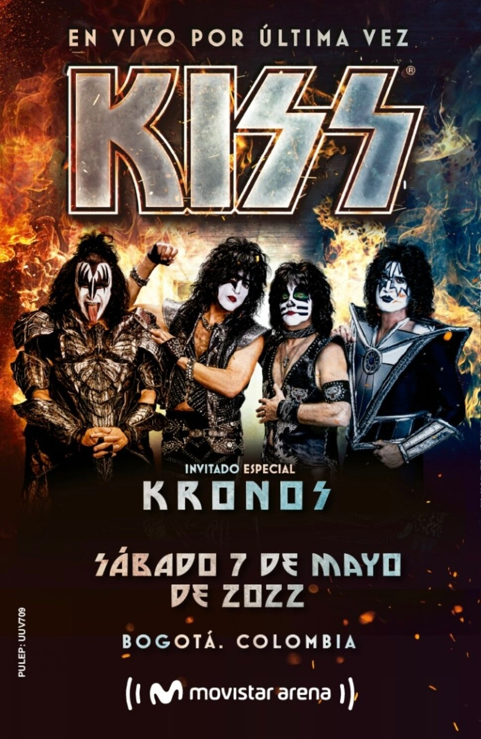 Kiss en Colombia: Nueva fecha para su concierto en el Movistar Arena de  Bogotá en mayo 2022
