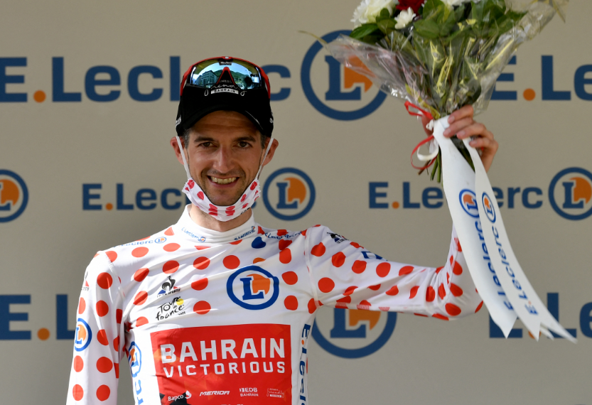Wout Poels es nuevo líder de la montaña del Tour de Francia.
