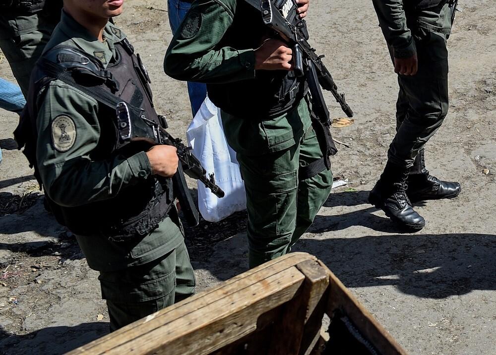 317771_Blu Radio. Militares venezolanos / Foto: AFP
