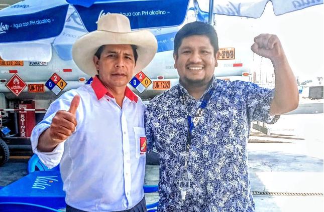 Marco Sipan y Pedro Castillo