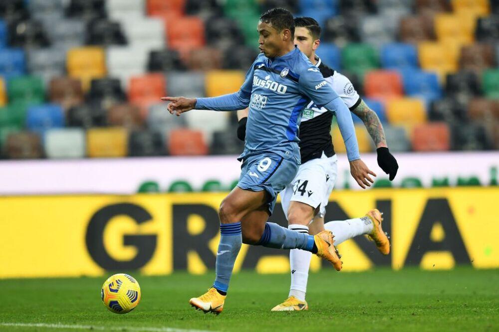 Luis Muriel, Udinese vs Atalanta