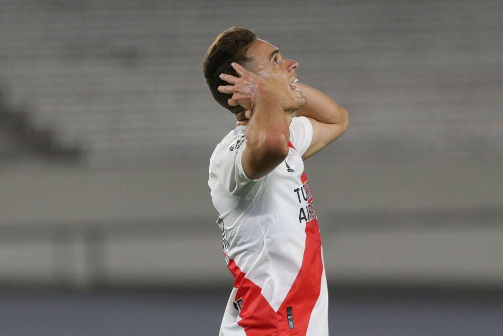 Rafael Santos Borré, jugador de River Plate