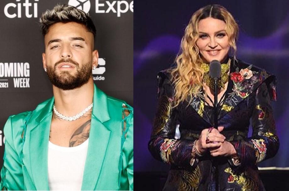 Maluma y Madonna protagonizan la portada de 'Rolling Stone'