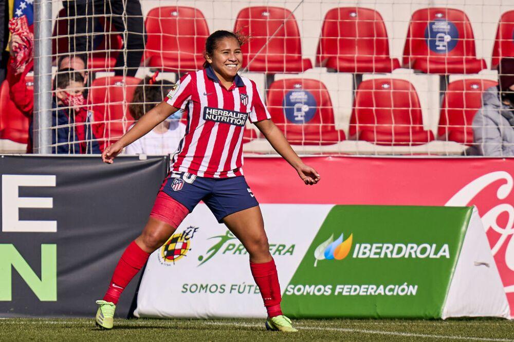Atletico de Madrid and Sevilla FC - Primera Division Femenina