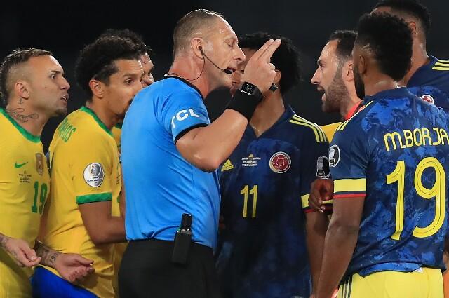 Néstor Pitana, en Copa América