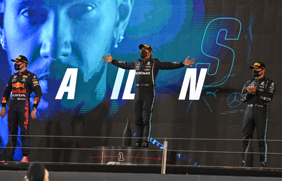 Lewis Hamilton se impuso en el GP de Bahréin de Fórmula 1.