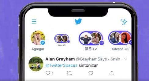 chats de voz en vivo desde Twitter con su nueva opción 'spaces'.JPG