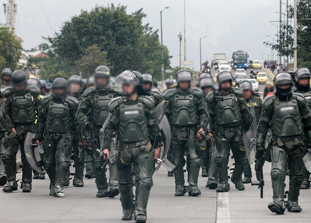 357490_Bogotá, Esmad / Foto: AFP