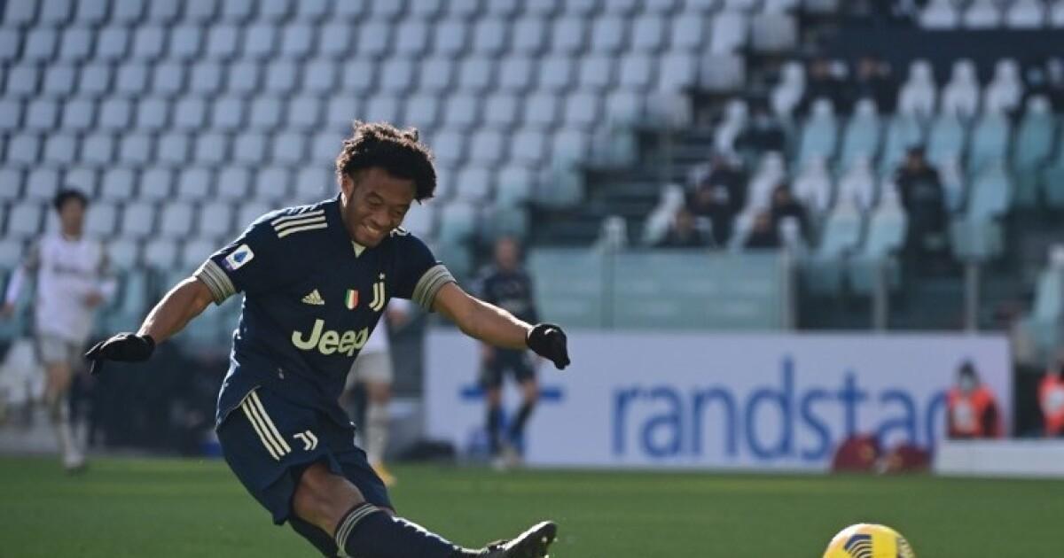 Juan Cuadrado vuelve a la titularidad: Juventus reveló su once inicial para enfrentar a Sampdoria