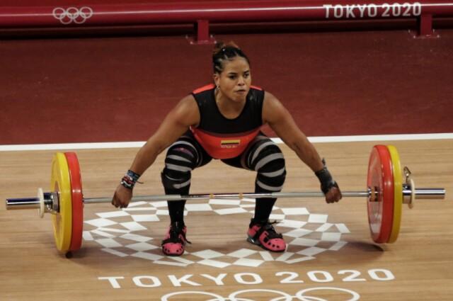 Mercedes Pérez, en los Juegos Olímpicos de Tokio