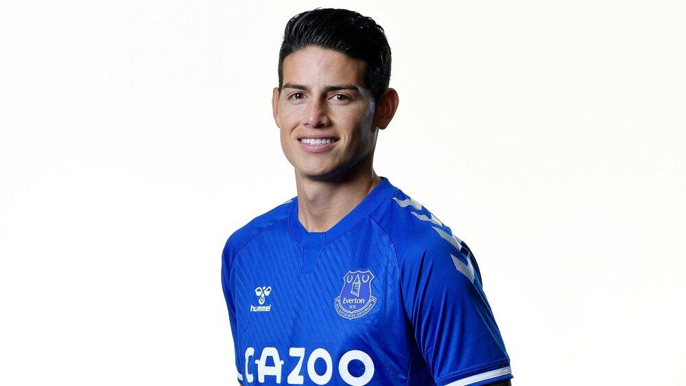 James Rordríguez, futbolista colombiano