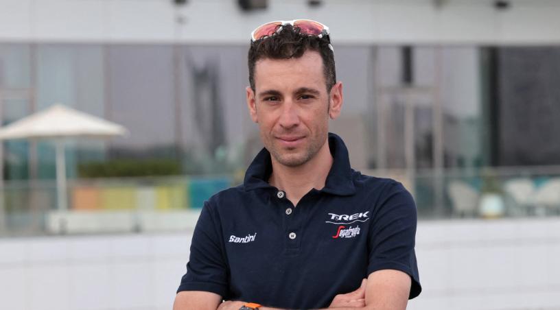 Vincenzo Nibali será el líder del Trek-Segafredo en el Giro de Italia.