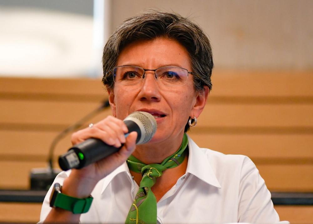 353293_BLU Radio. Claudia López // Foto: AFP