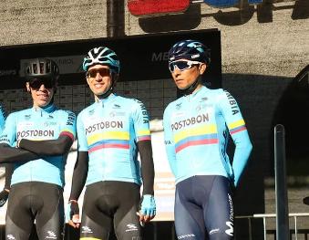 Colombia tendrá un equipazo en el Mundial de ciclismo 2020.