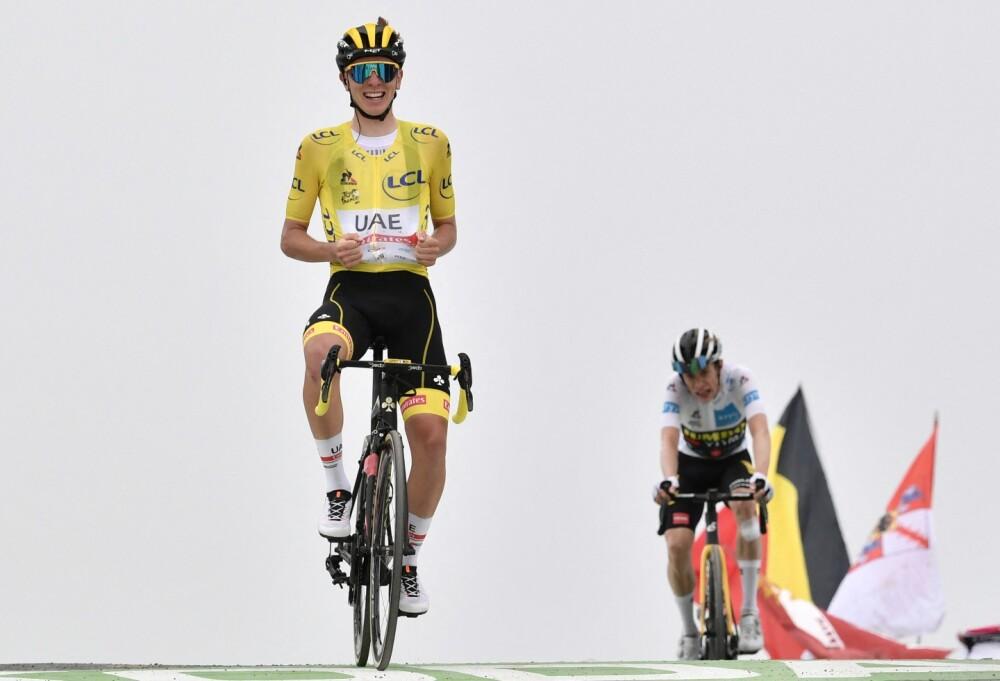 Tadej Pogacar en Tour de Francia