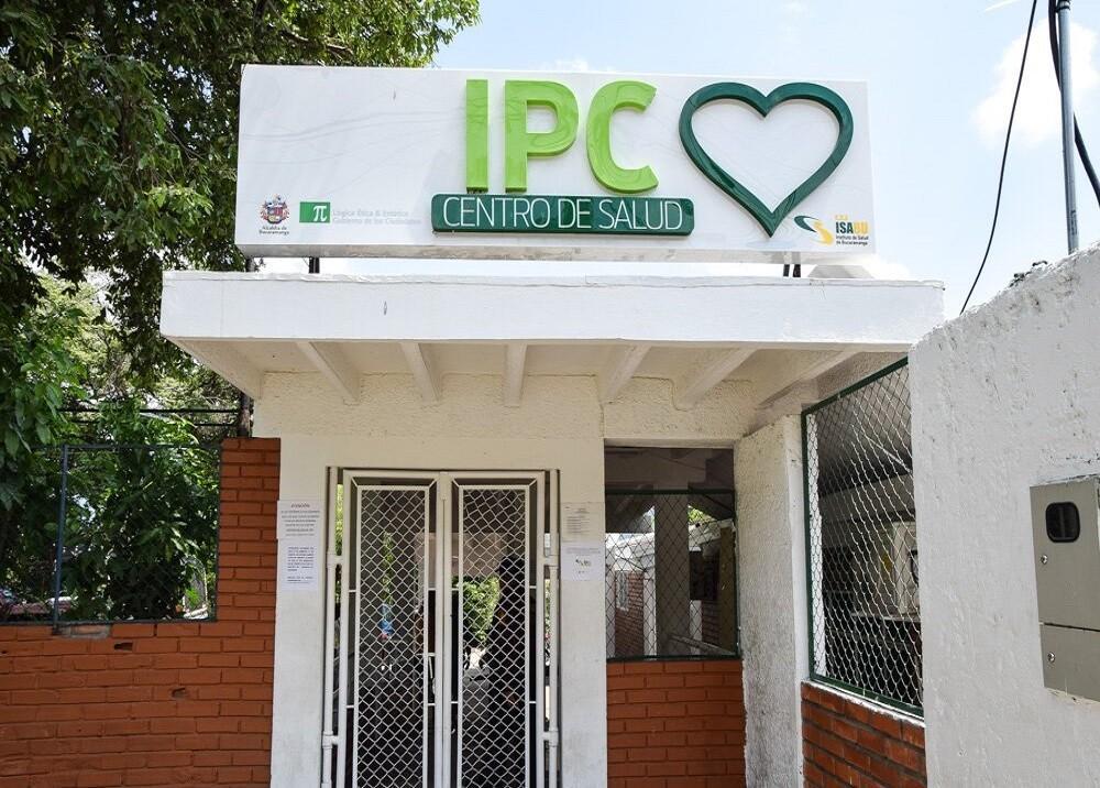 359430_BLU Radio. Puesto de Salud en Bucaramanga / Foto:Suministrada