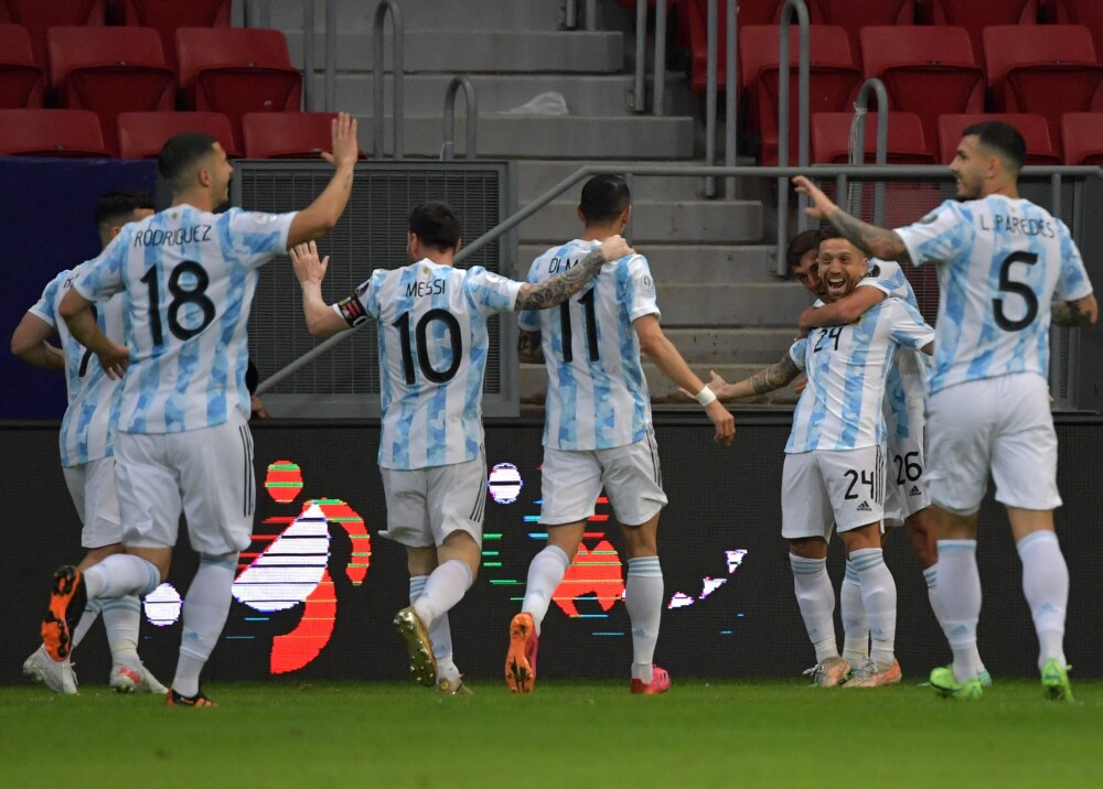 Selección Argentina AFP.