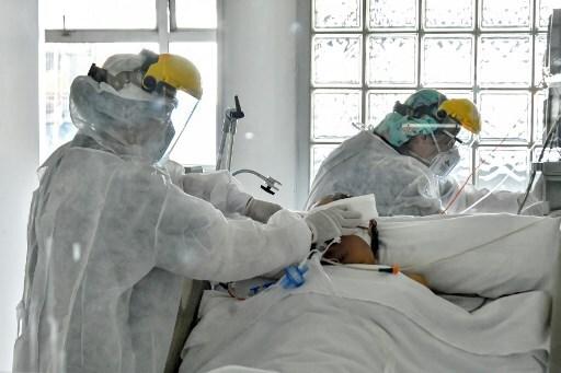 COLOMBIA-HEALTH-VIRUS-ICU