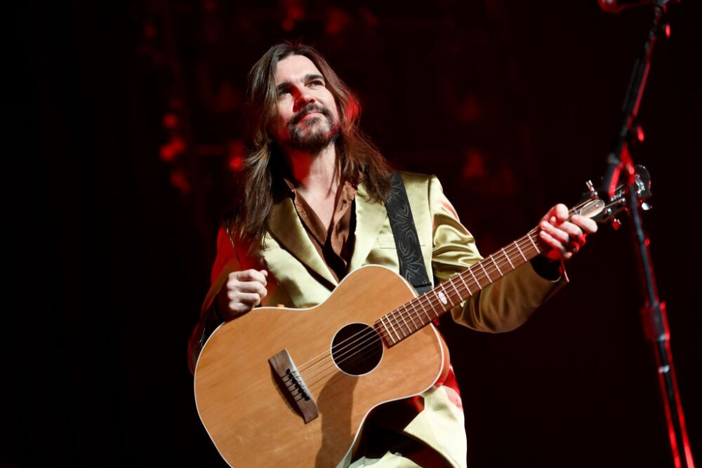 Juanes Performs At Youtube Theater