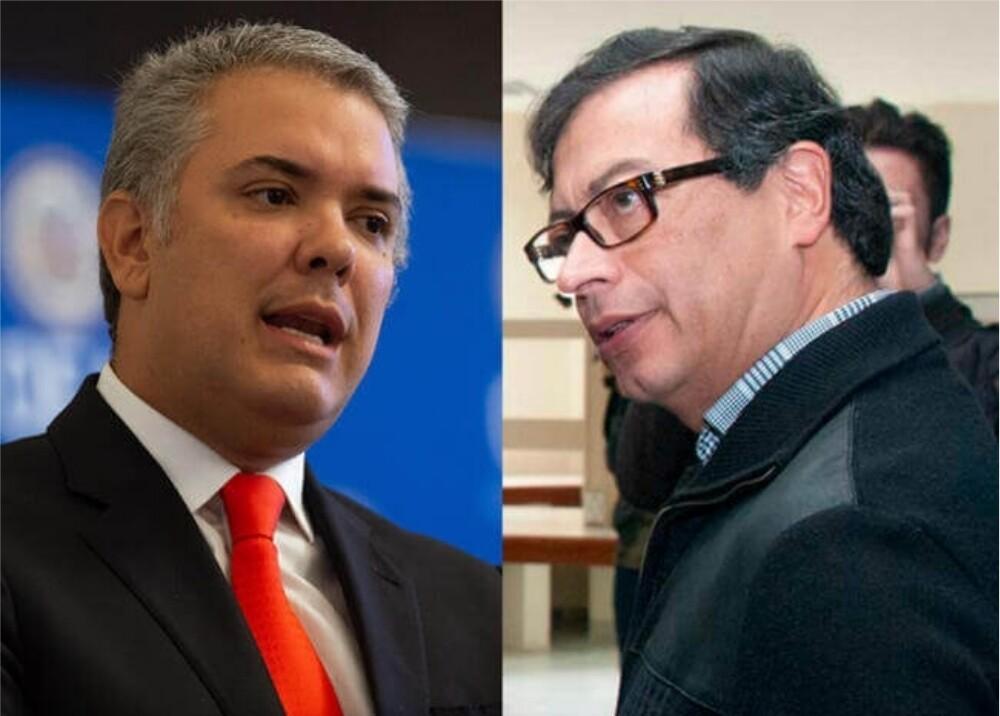 Iván Duque y Gustavo Petro Fotos_ Presidencia - AFP.jpg