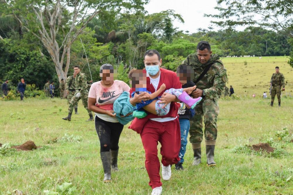 Heridos por mina antipersonal en Guaviare. Foto Ejército.jpeg