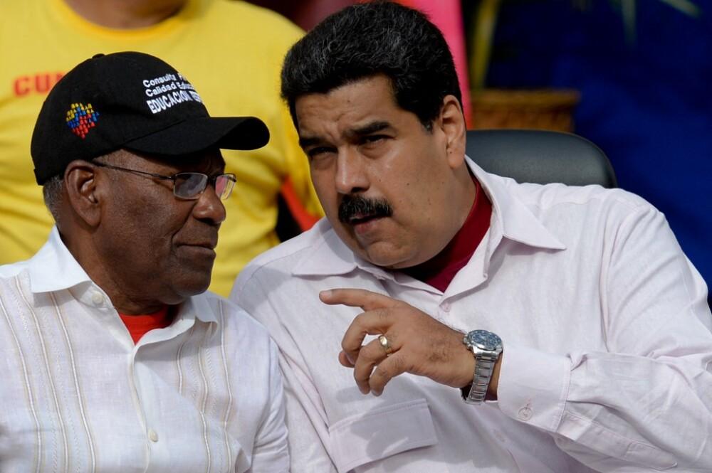 Aristóbulo Istúriz y Nicolás Maduro