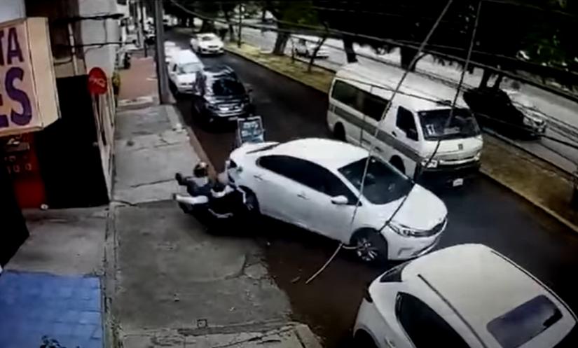 Ladrones atropellados en Morelia, México.PNG
