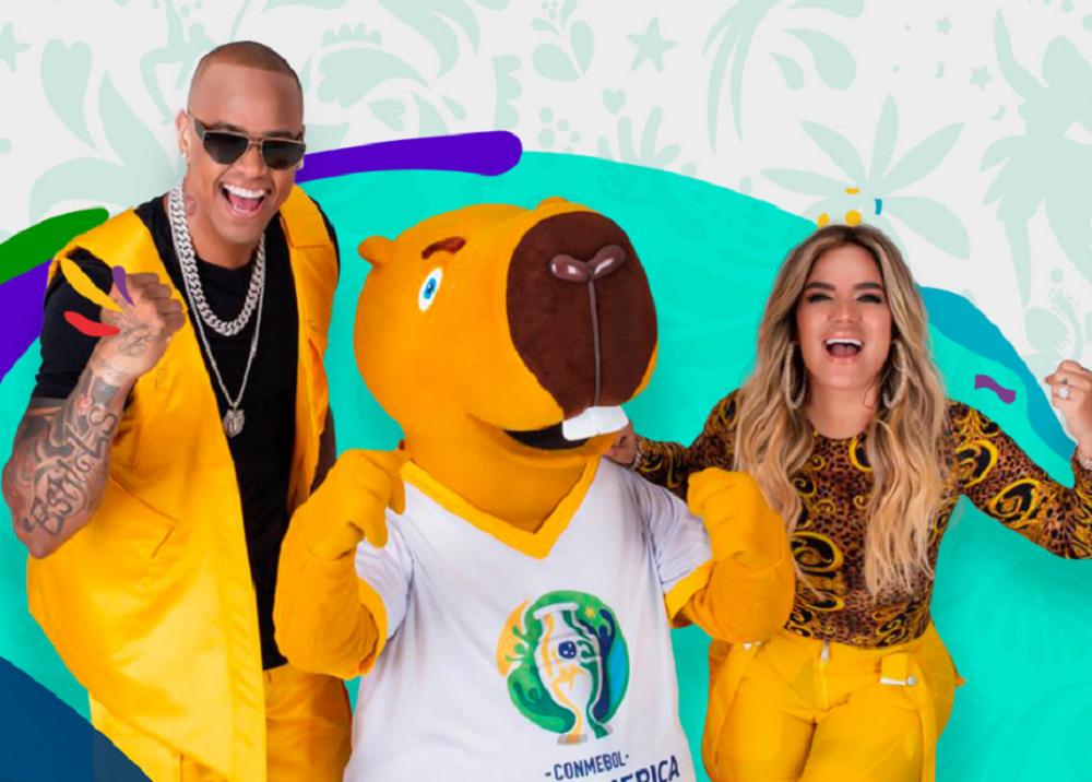 335915_BLU Radio. Karol G interpretó la canción oficial de la Copa América 2019 // Foto: Conmebol