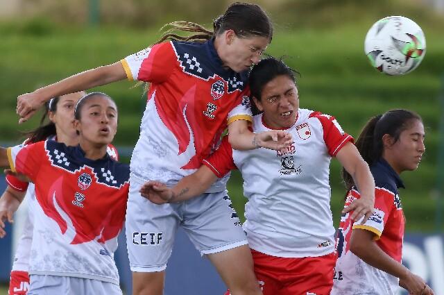 Independiente Santa Fe contra Fortaleza, en la Liga Femenina