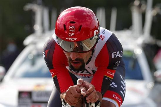 Fernando Gavira quedó a 41 segundos de Filippo Ganna en la etapa 1 del Giro de Italia 2021.