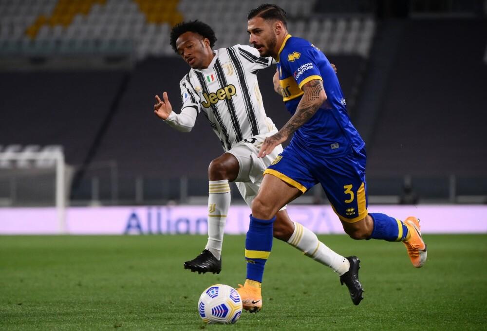 Cuadrado AFP Juventus.