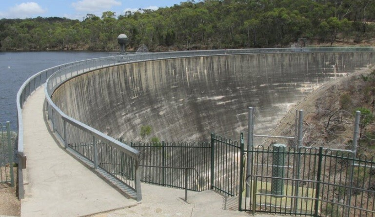 Muro de los susurros en Australia