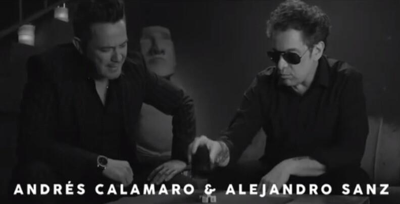 Alejandro Sanz y Andrés Calamaro